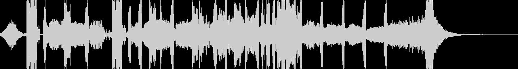 モンスターや敵キャラ登場シーン系BGMの未再生の波形