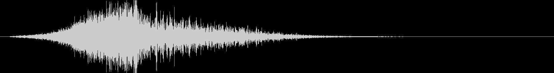 インパクト①(重低音・映画・トレーラー)の未再生の波形