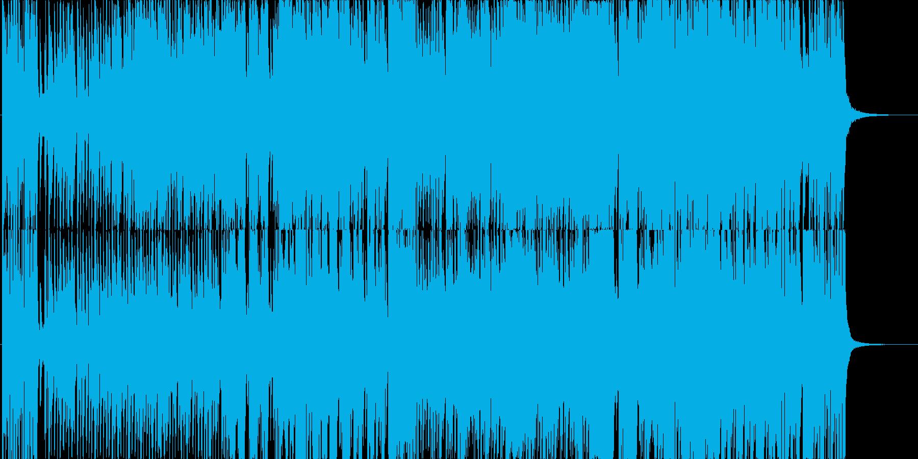 ビッグバンドジャズのクリスマスソングの再生済みの波形