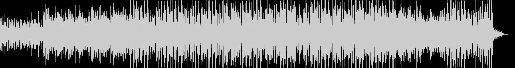 ピアノが中心の明るいポップスの未再生の波形