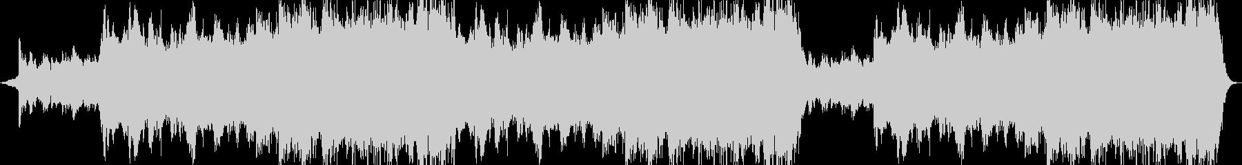 神秘的 ヒーリング アンビエントの未再生の波形