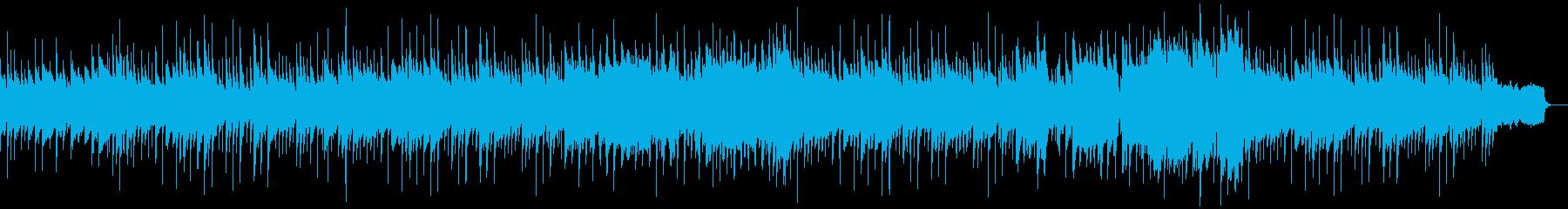 しみじみしたスローバラードの再生済みの波形