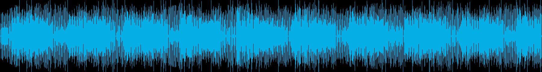 ピアノとオルガン、ワクワクほのぼの楽しいの再生済みの波形