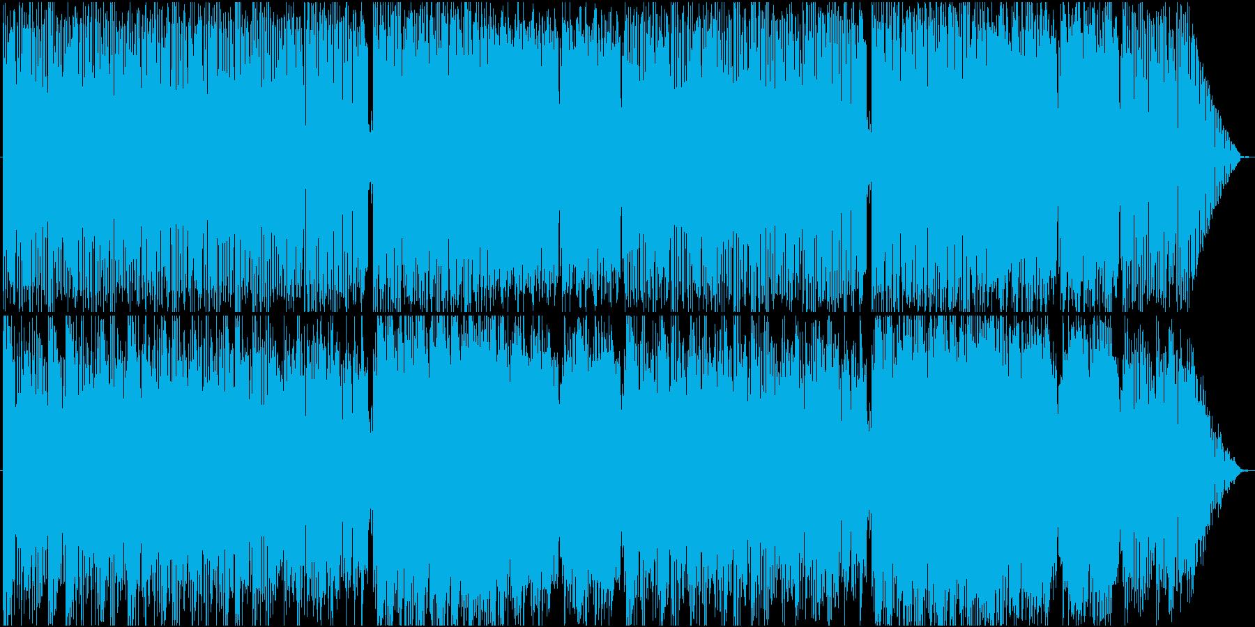 ショッピングモール・デート曲の再生済みの波形