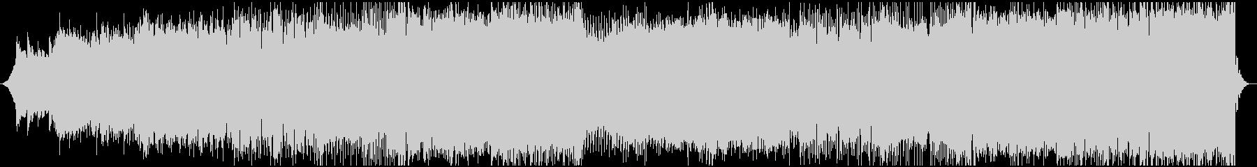 シンセリードメインのキレイめEDMの未再生の波形