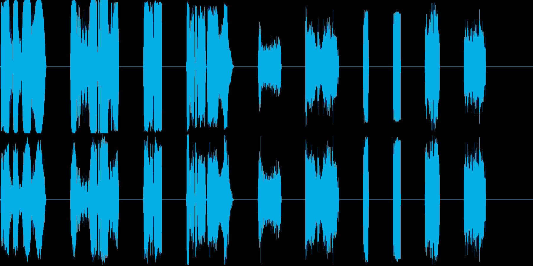 DJ Nasties 21-30の再生済みの波形