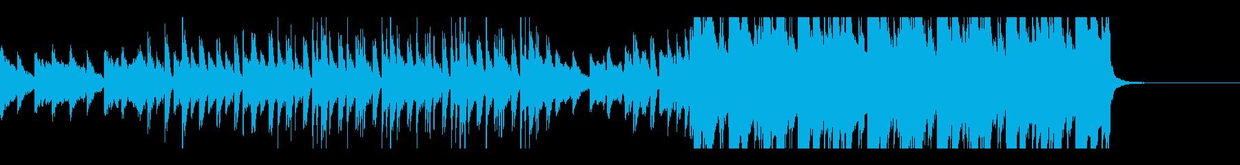 チルサウンドなビートの再生済みの波形