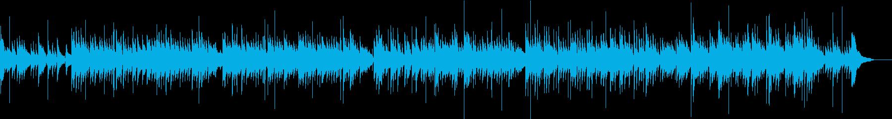 生ギター、和モダン 竹林の景色イメージの再生済みの波形