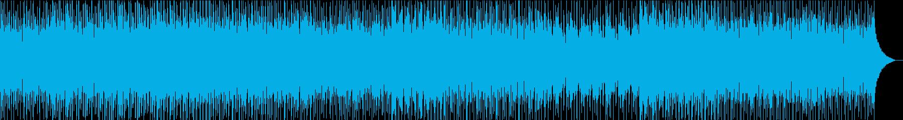 J−POPな曲調のBGMの再生済みの波形