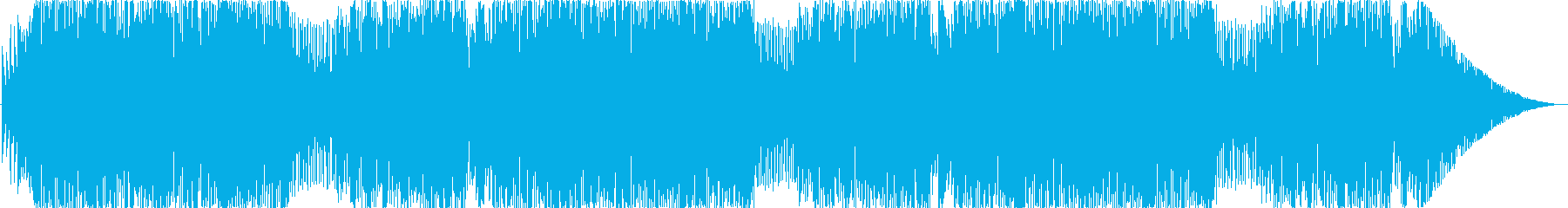 ビックバンド風カートゥーンなコミカル曲の再生済みの波形