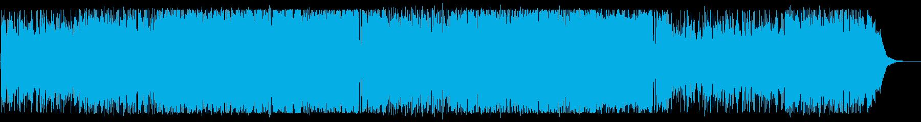 美しいメロディーのロマンチックなBGMの再生済みの波形