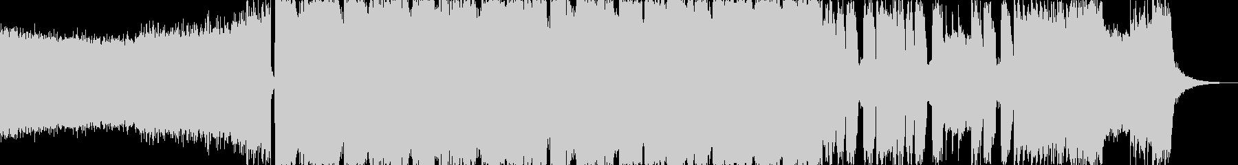 アグレッシブシネマティックヘヴィロックbの未再生の波形