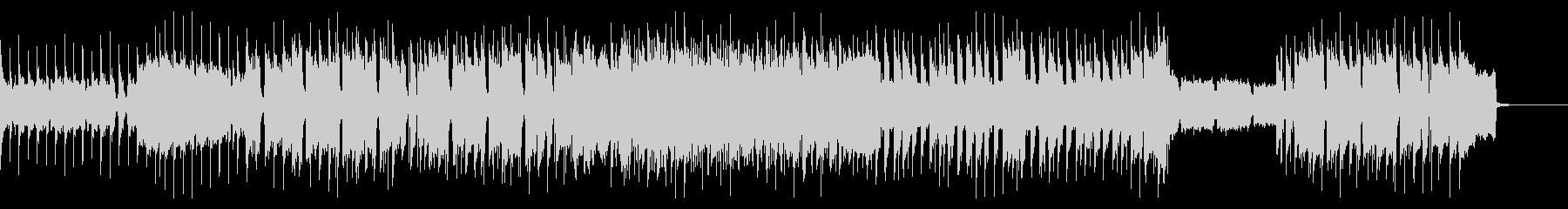 ザ・ロックなギターインストの未再生の波形