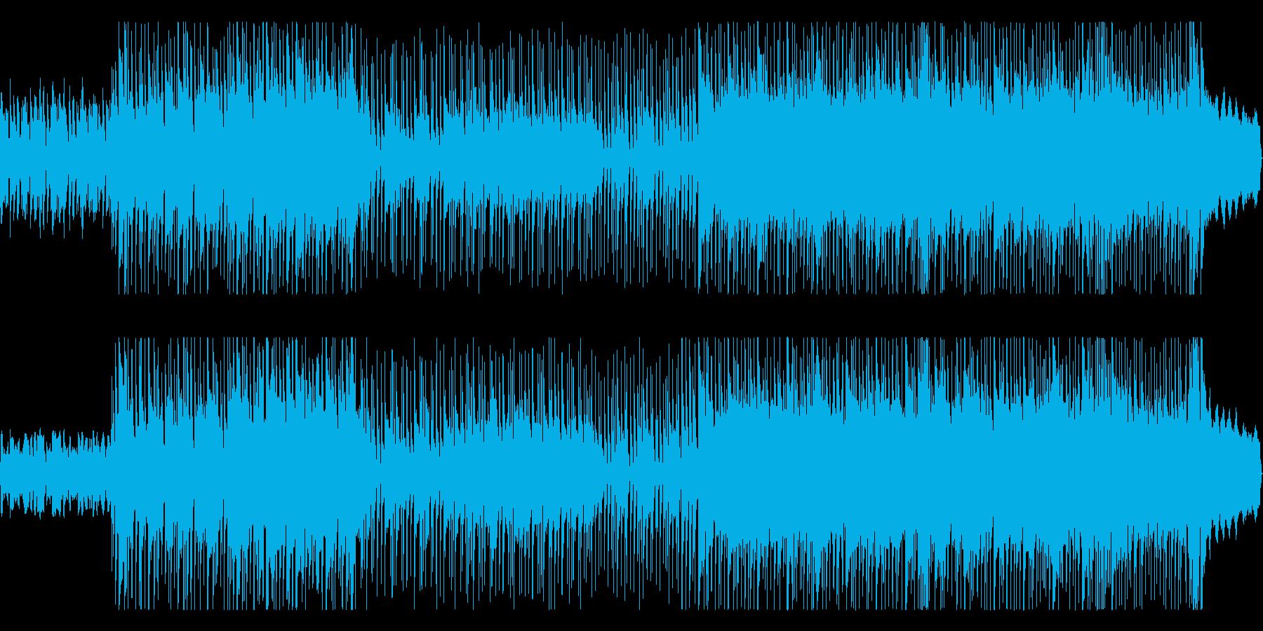 クールでテクニカルなロックサウンドの再生済みの波形