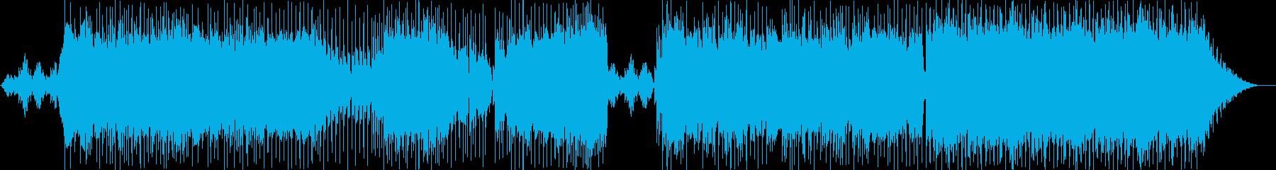 海底を連想する幻想的な楽曲の再生済みの波形