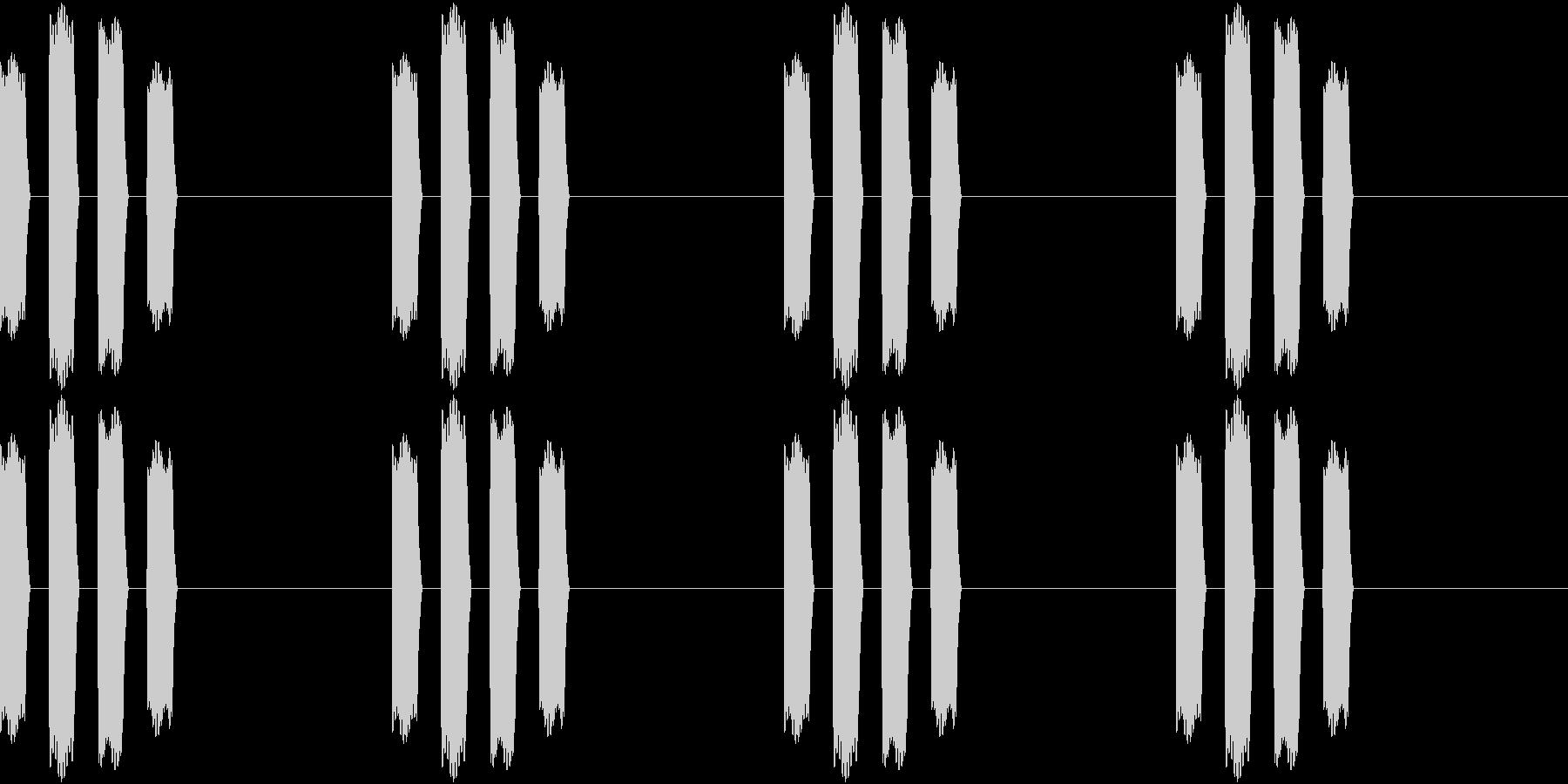 Thermo 体温計の音 ピピピピッ 1の未再生の波形