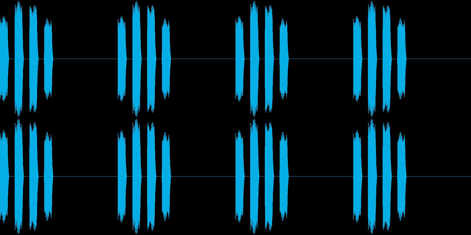 Thermo 体温計の音 ピピピピッ 1の再生済みの波形