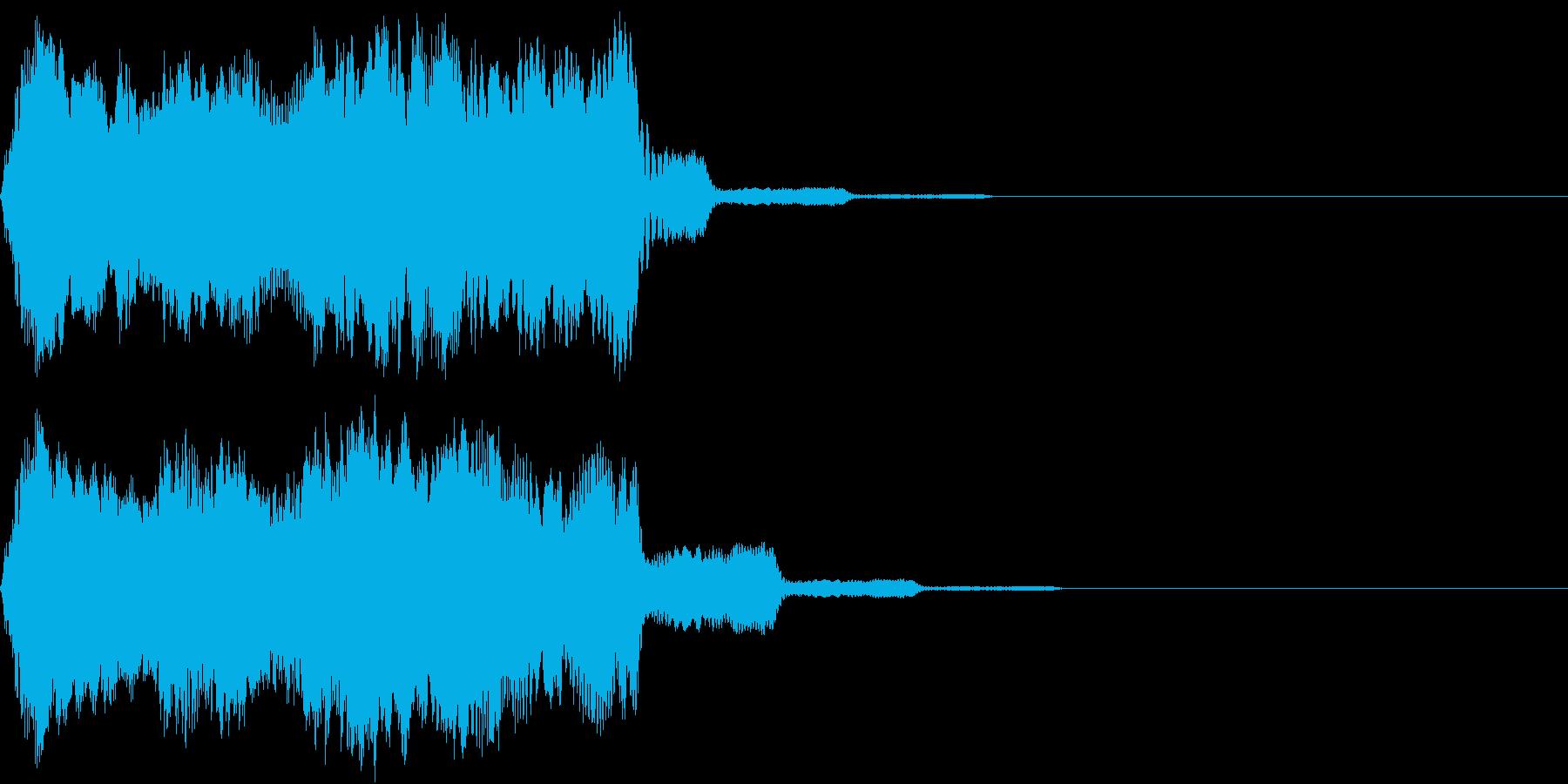 Game 蘇生・復活・回復する音 呪文音の再生済みの波形