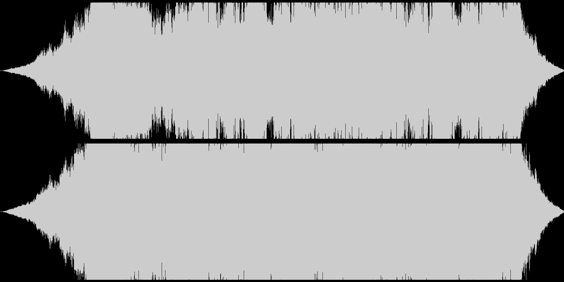 エスニックでおしゃれなBGMの未再生の波形