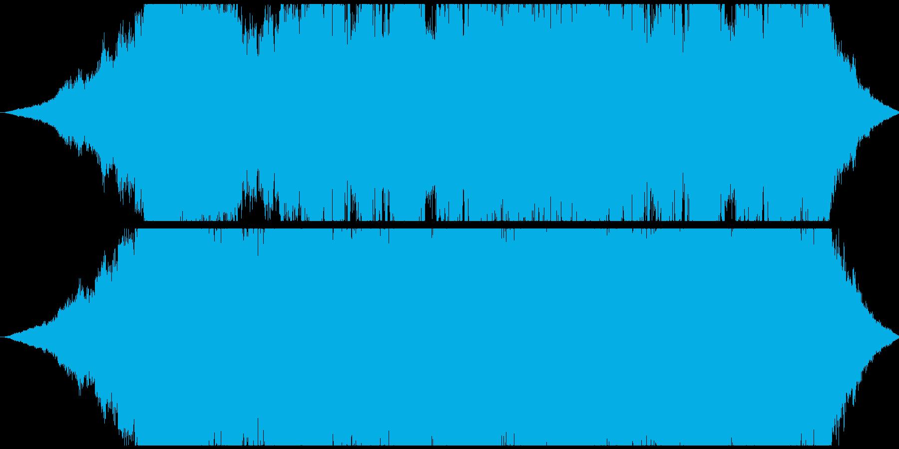 エスニックでおしゃれなBGMの再生済みの波形