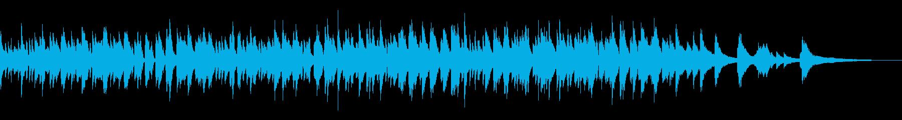 おしゃれなラウンジ風ボサノバピアノトリオの再生済みの波形