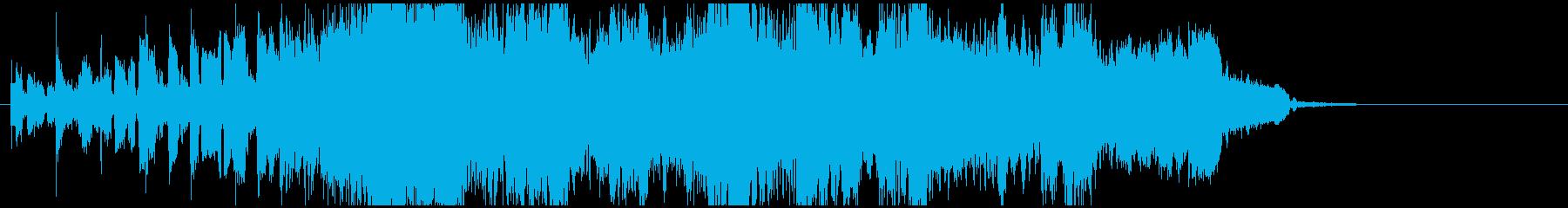 攻めるCMに!15秒サックスダブステップの再生済みの波形