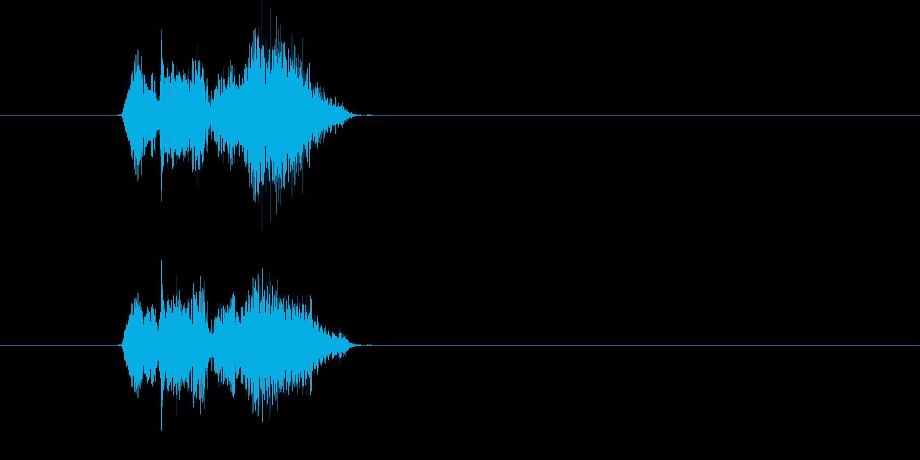 ウリャビシッの再生済みの波形
