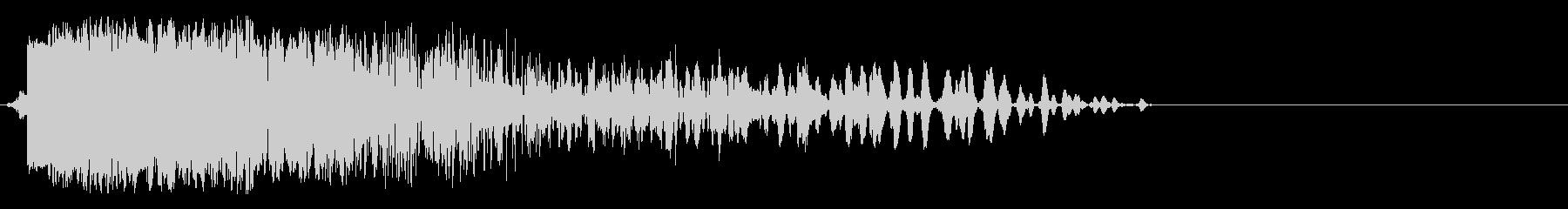 効果音、爆発、ボカーン、ドカーン、爆弾の未再生の波形