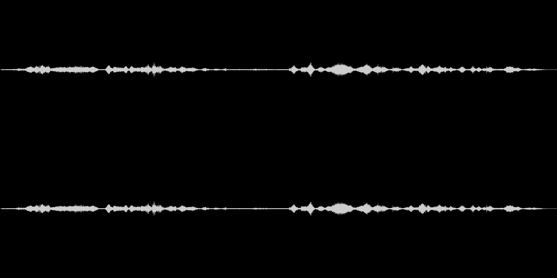 (ブツブツぼそぼそ)の未再生の波形