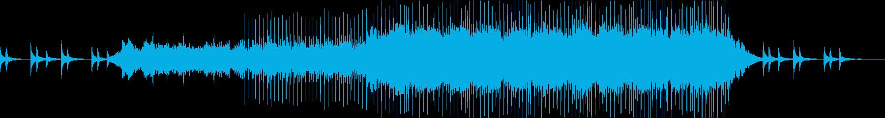 ピュアで爽やかな雰囲気の曲(PV用)の再生済みの波形