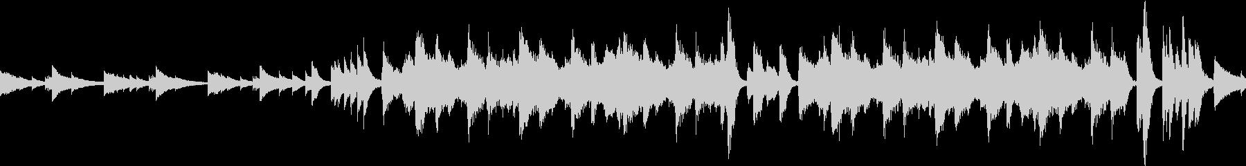 ミステリアスな鉄琴とストリングス ループの未再生の波形