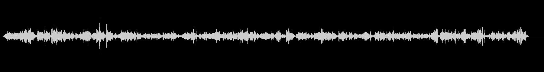 レストラン-静か-声の未再生の波形