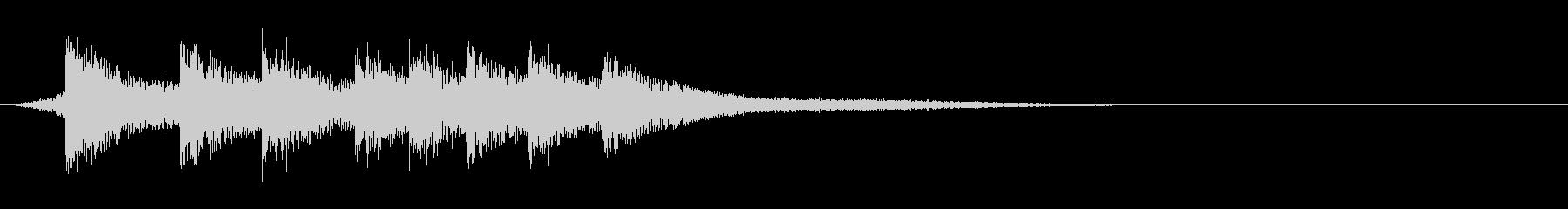 ピロリ(アプリ、ゲーム)の未再生の波形