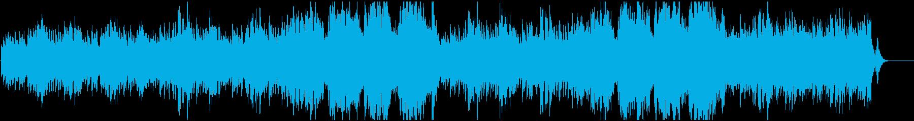 優しい夢見心地なオルゴールの曲の再生済みの波形