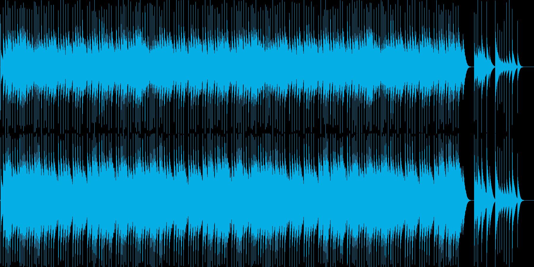 【オルゴール】クリスマス曲Wewish4の再生済みの波形