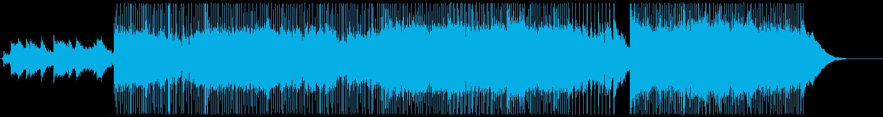 ポップなロックアメリカンインストゥ...の再生済みの波形
