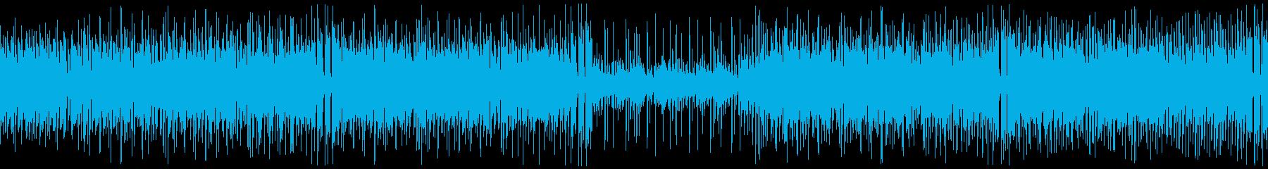 クラビンの再生済みの波形