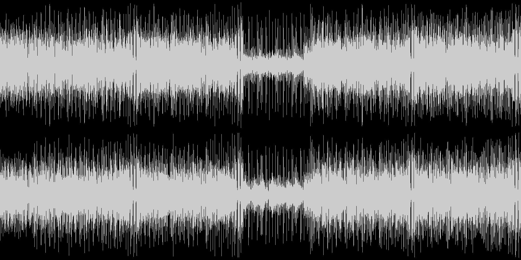 クラビンの未再生の波形