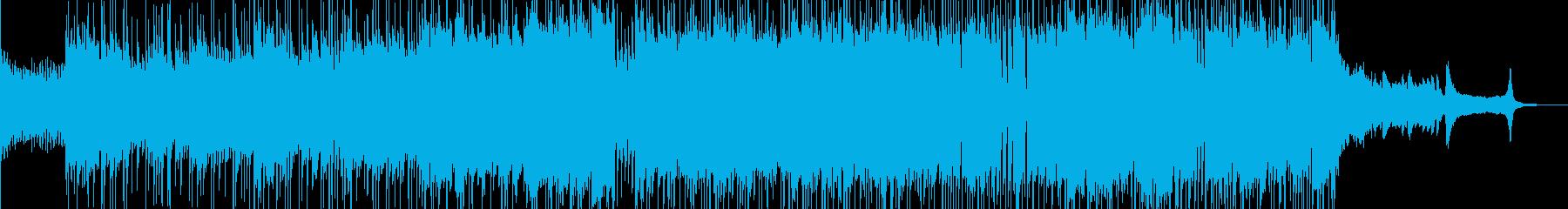 アオハル 前向きに走りだすポップス Cの再生済みの波形