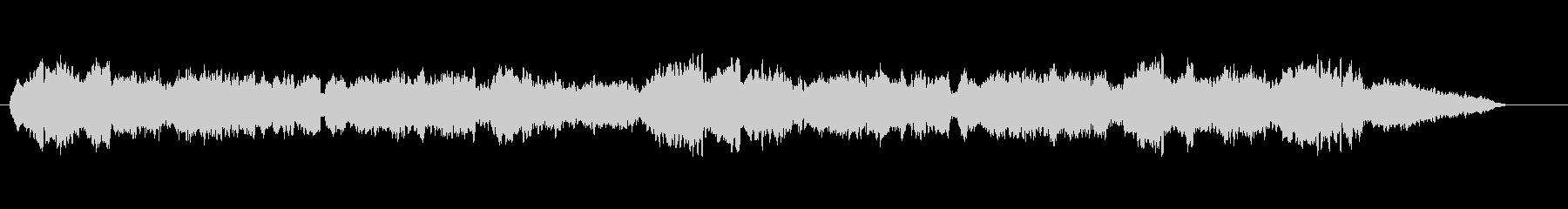 静かなオーボエの未再生の波形