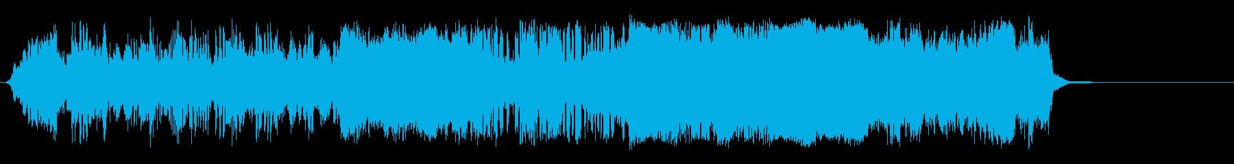 干渉の実行の再生済みの波形