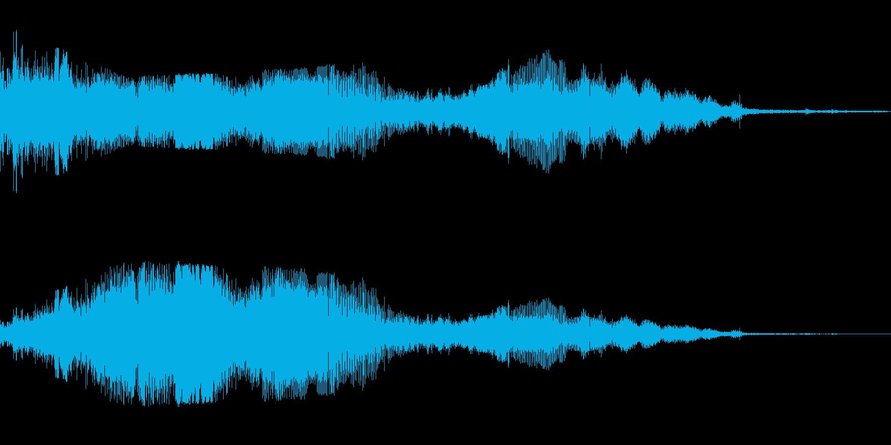 F1などのレース、エンジン効果音42!の再生済みの波形