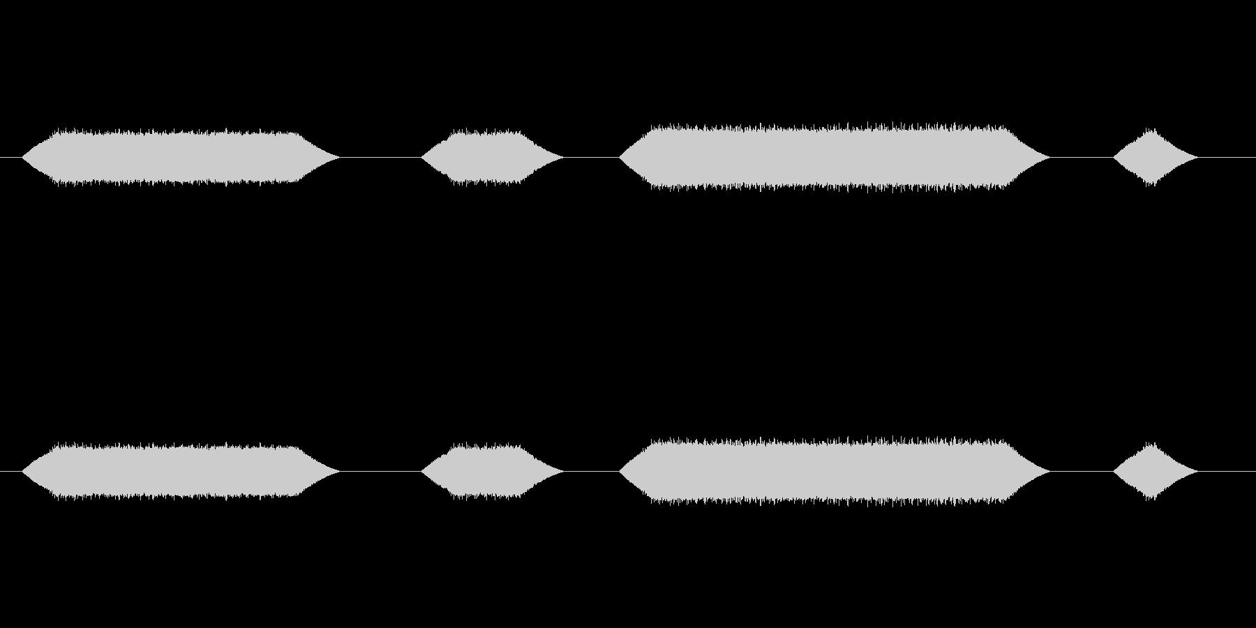 メカ動作・レーザーメス#6の未再生の波形