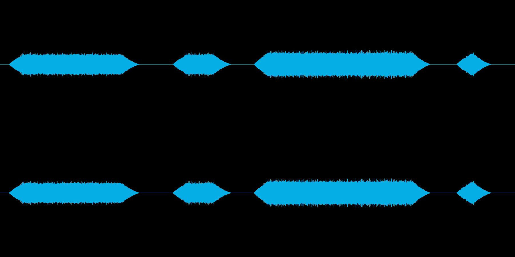 メカ動作・レーザーメス#6の再生済みの波形