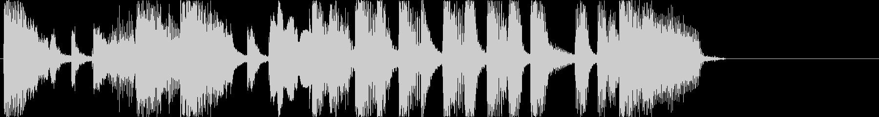 おもしろジングル/エンディング1の未再生の波形