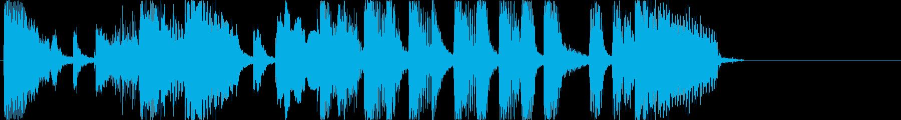 おもしろジングル/エンディング1の再生済みの波形
