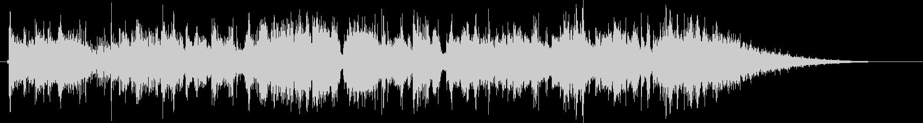 グルーヴィーなジャズファンクジングルの未再生の波形