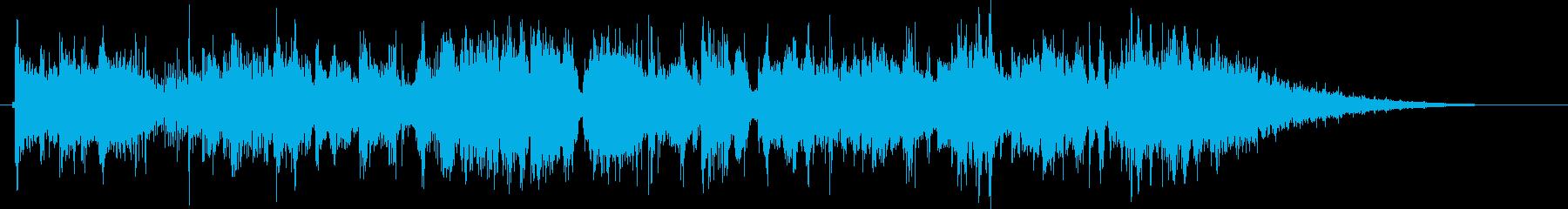 グルーヴィーなジャズファンクジングルの再生済みの波形