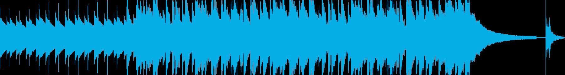 明るくハッピーでリズミカル30秒の再生済みの波形