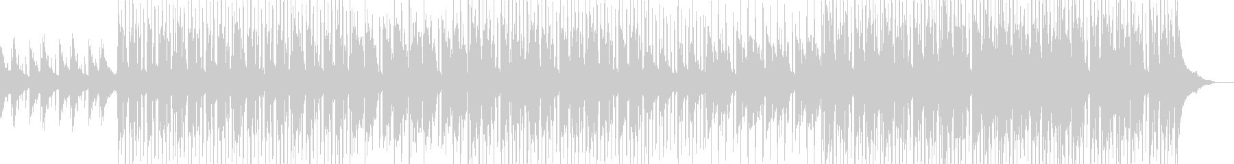 ミディアムテンポの爽やかなピアノサウンドの未再生の波形